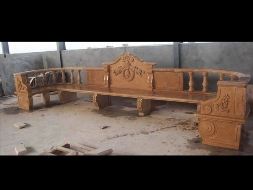 Outdoor Marble Bench
