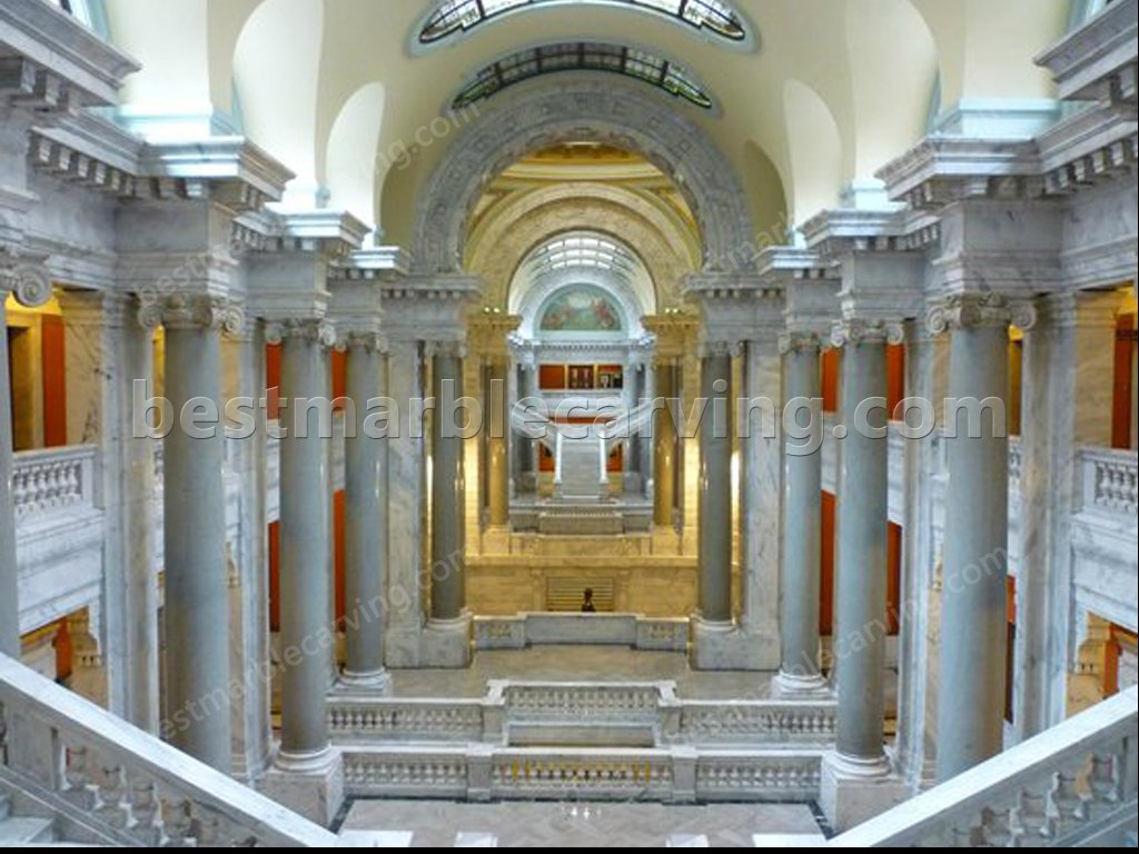 The Advantage of Marble indoor marble column