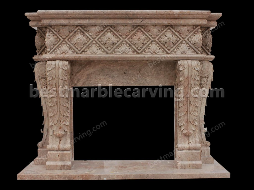 Marble Mantel-marble mantel (1)
