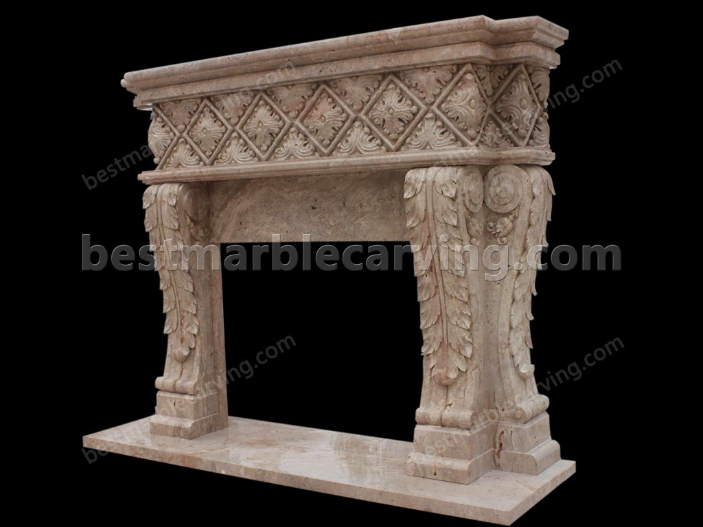 Marble Mantel-marble mantel (2)