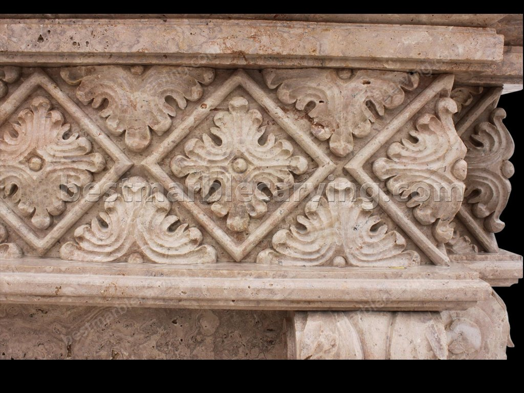 Marble Mantel-marble mantel (3)