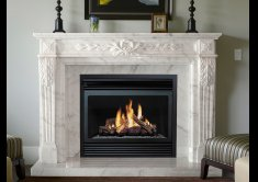 The Elegance of Marble Fireplaces
