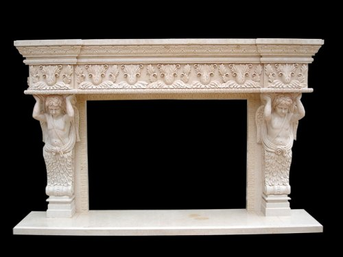 Marble Arround Fireplace